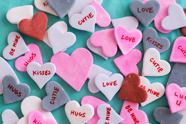 Homemade Candy Conversation Hearts Recipe