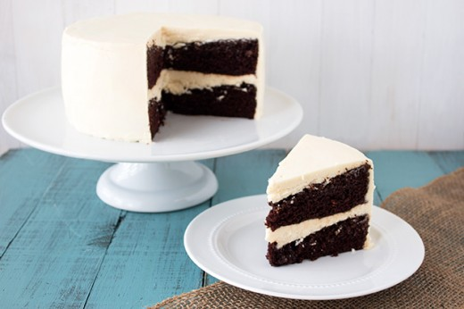 Guinness Chocolate Cake with Irish Buttercream Recipe