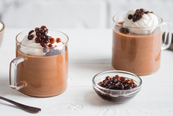 Mocha Mousse with Espresso Caviar & Chantilly Cream Recipe