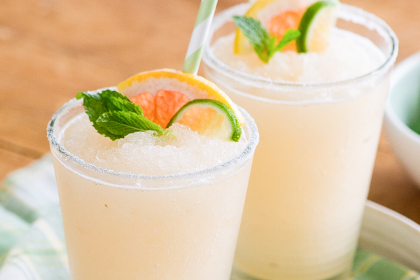 Blended Grapefruit Limeade Recipe