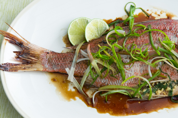 Asian-Style Roasted Whole Fish Recipe
