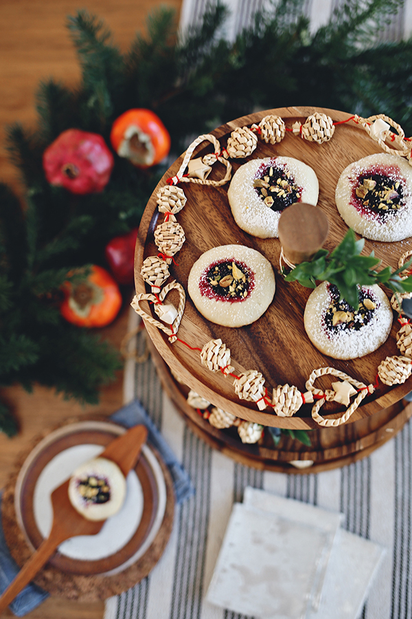 How to Style a Holiday Cookie Party