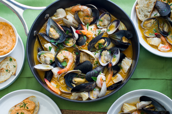 Mixed Seafood Bouillabaisse Recipe
