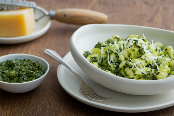 Homemade Gnocchi with Kale Pesto Recipe