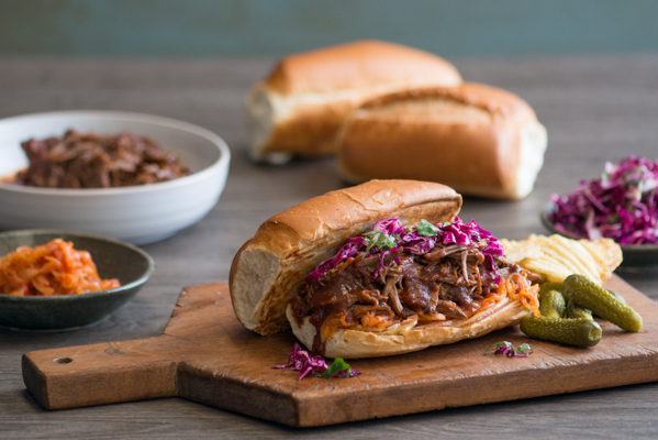 BBQ Brisket Po Boy Recipe
