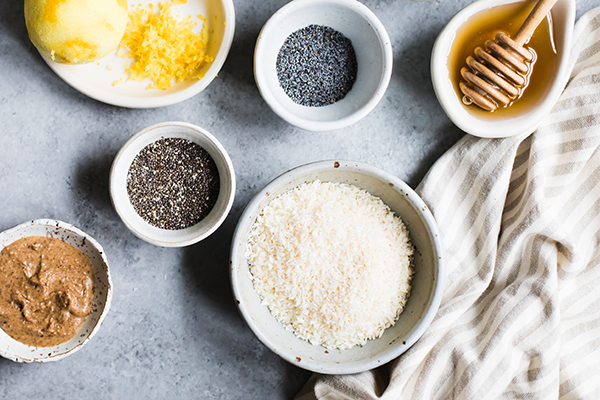 No-Bake Lemon Poppy Seed Energy Bites Recipe