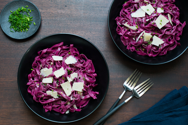 Homemade Pink Beet Pasta Recipe