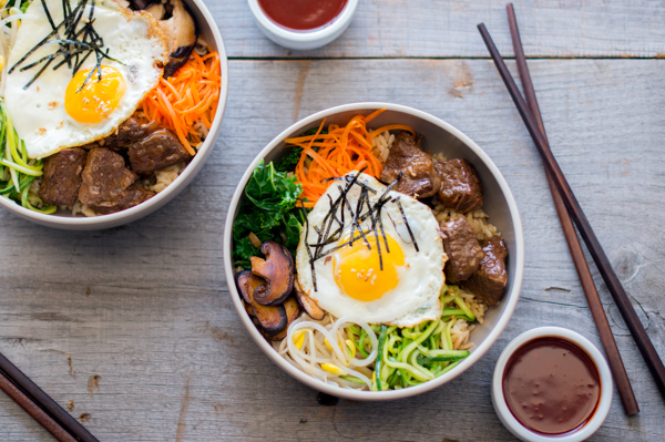 Slow Cooker Beef Bibimbap Recipe