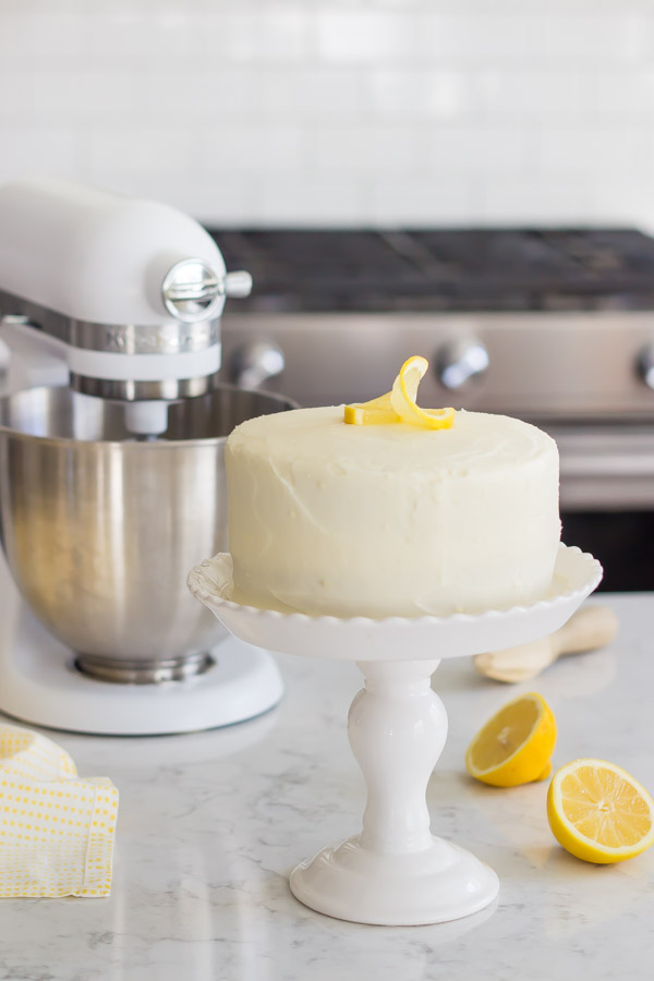 Mini Lemon Cake Recipe
