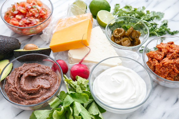 Mexican 7-Layer Party Dip Recipe
