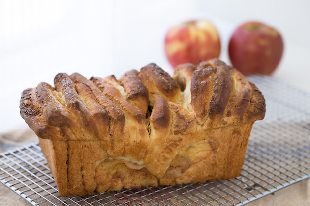 Apple Pie Cream Cheese Bread