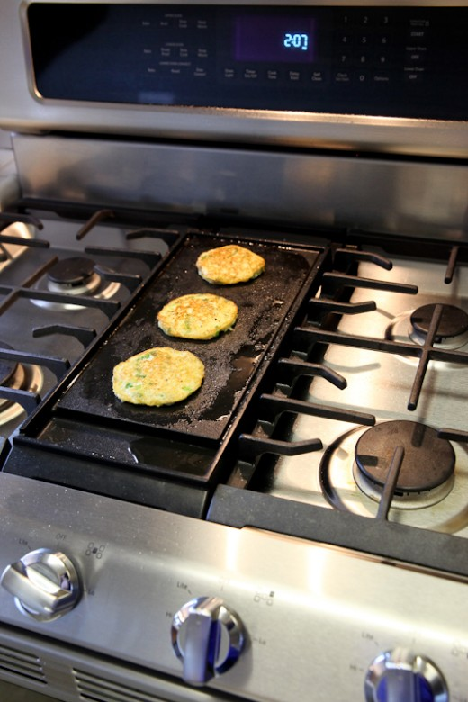 Food U0026 Wine Classic In Aspen Cauliflower Griddle Cakes Recipe
