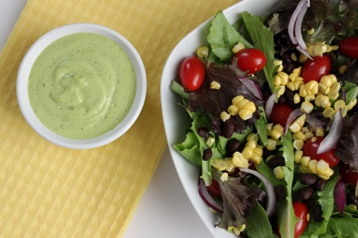 Creamy Avocado Lime Dressing Recipe