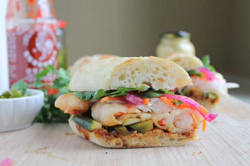 Shrimp Tempura Banh Mi Recipe