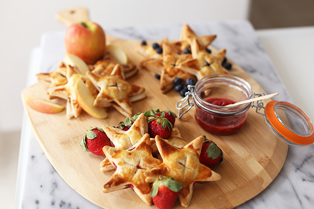 Apple & Berry Hand Pies