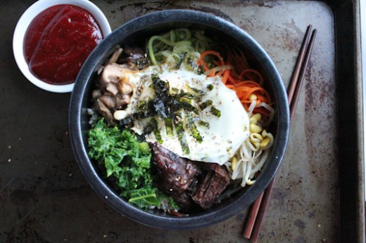 Slow Cooker Bibimbap Recipe