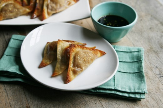 Chicken Teriyaki Wontons Recipe