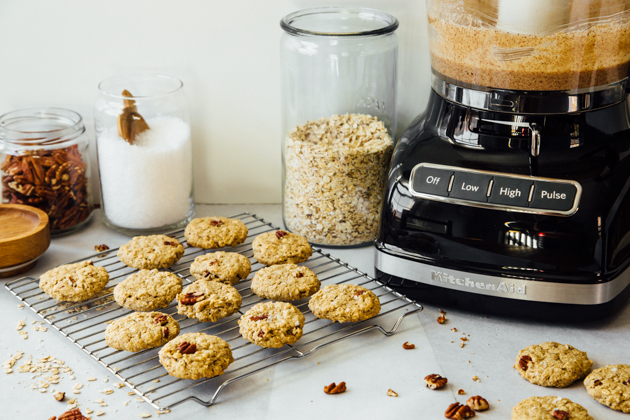Maple Pecan Butter Cookies Recipe