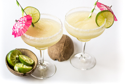 Frozen Coconut Margaritas