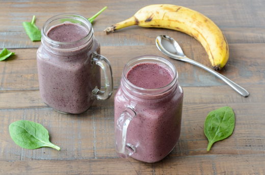 Make-Ahead Berry Banana Smoothies