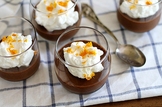Dark Chocolate Orange Mousse