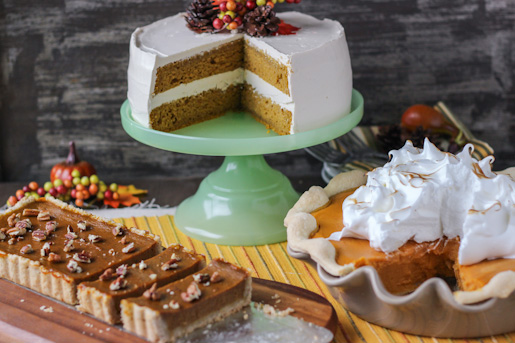 Pumpkin & Sweet Potato Holiday Desserts Recipe