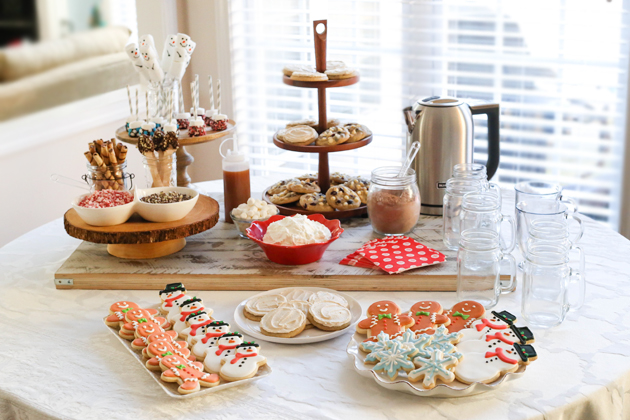 Hot Chocolate Bar and Cookie Exchange Party