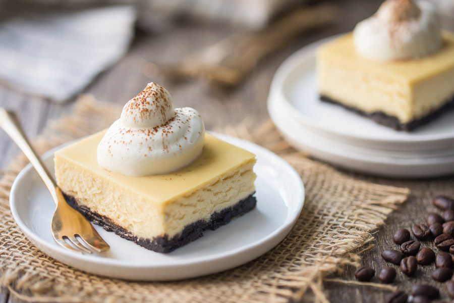 White Russian Cheesecake Bars Recipe