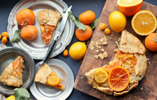 Mixed Citrus Galette Recipe
