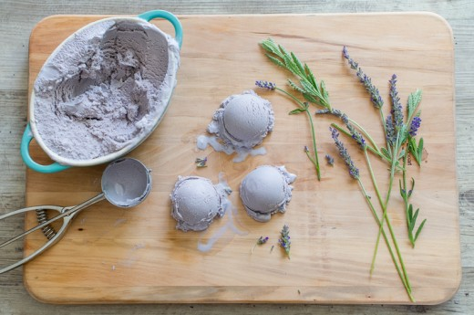 Lavender Honey Ice Cream Recipe