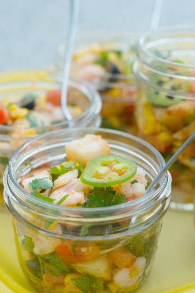 Mixed Seafood Ceviche Recipe