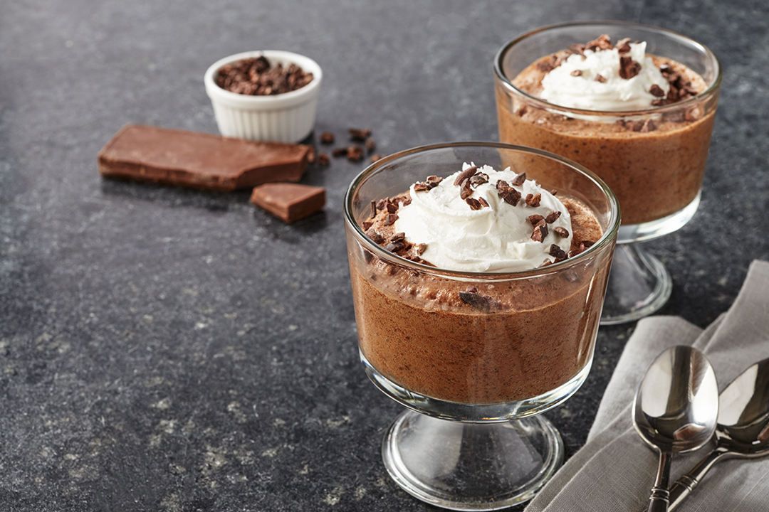 Chickpea Chocolate Mousse Recipe
