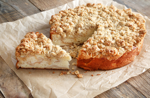 Gluten Free Apple Crumb Cake Recipe