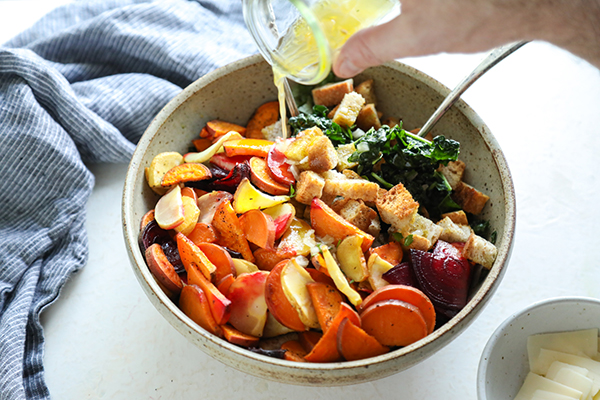 Winter Panzanella Salad Recipe
