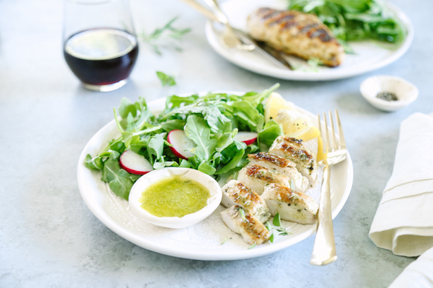 Zesty Herb Marinated Chicken