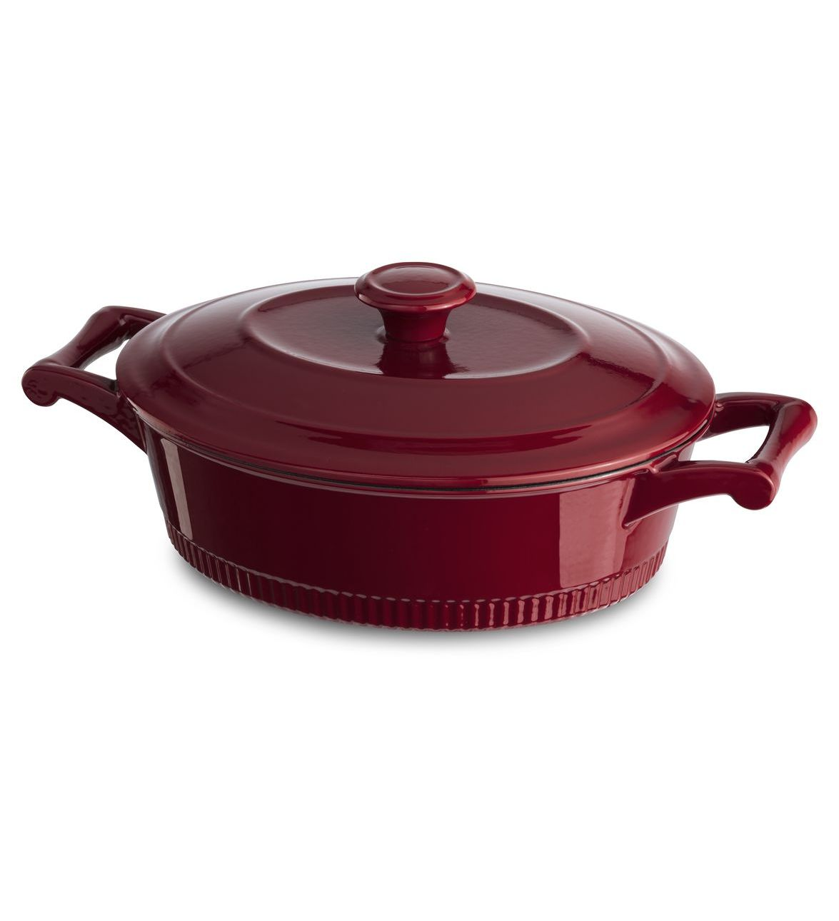 KitchenAid® Traditional Cast Iron 3-Quart Casserole
