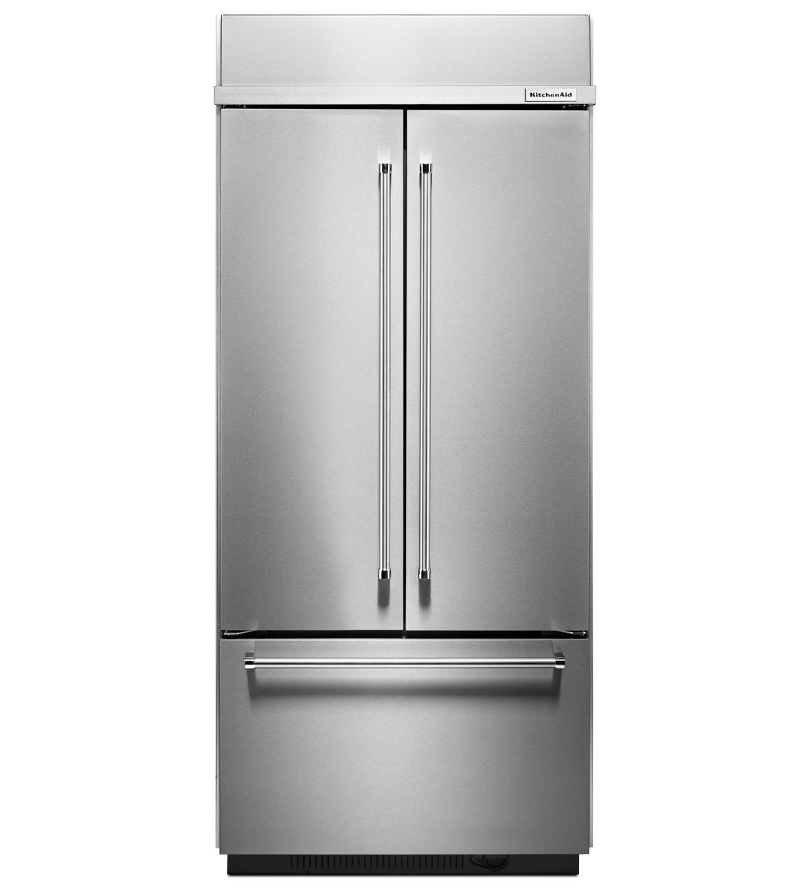 "KitchenAid® 36"" Built In French Door Refrigerator"