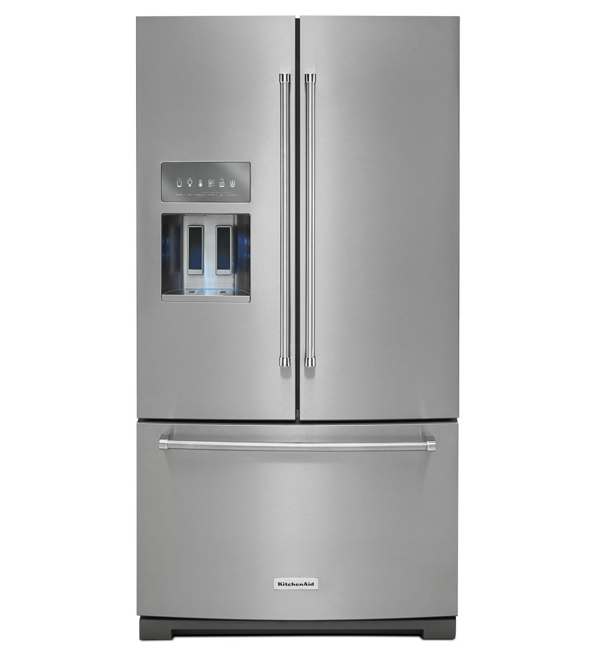 Stainless Steel 26 8 Cu Ft 36 Inch Width Standard Depth French