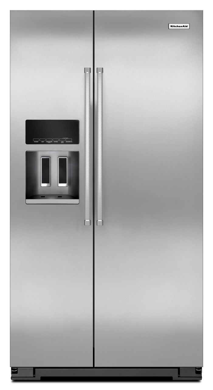 KitchenAid® Counter Depth Side-by-Side Refrigerator with Exterior Ice and Water
