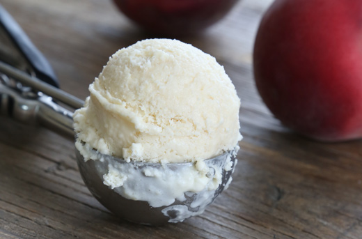 Awesome Gluten Free No Churn Peach Ice Cream Recipe Images
