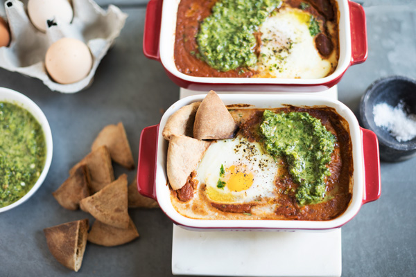 Shakshuka with Zhug Recipe