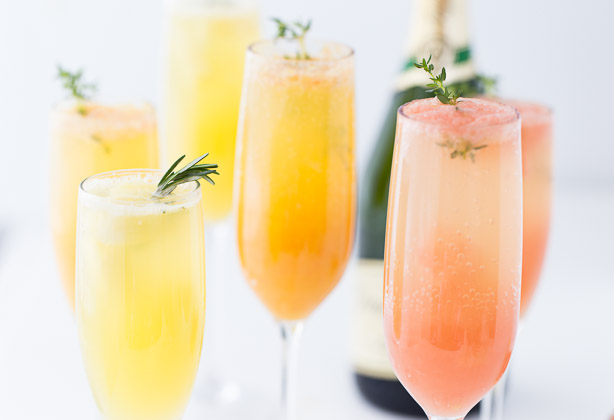 Brunch Series: Mimosas Three Ways