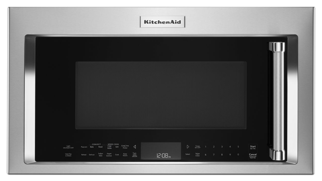 KitchenAid® 1200 Watt Convection Microwave With High Speed Cooking U2013 30u2033