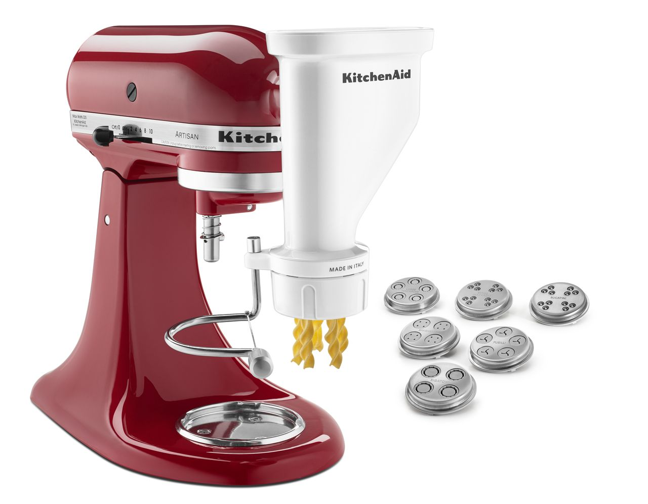 Kitchenaid Attachments Buckwheat Bucatini With Truffled Wild Mushroom Sauce  The