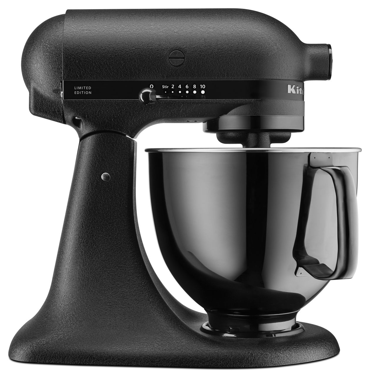 The KitchenAid® Artisan® Black Tie Limited Edition Stand Mixer Is Made With  All Black Finishes And Premium Materials, Including Die Cast Zinc, ...