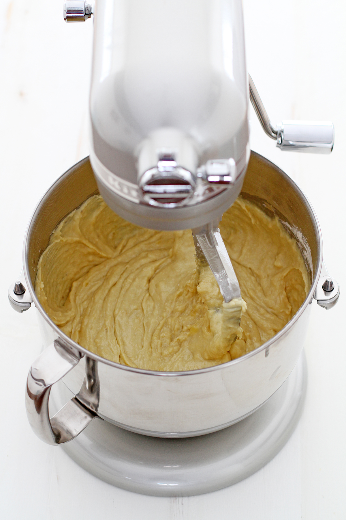 Electric Mixer Making Banana Bread ~ Banana bread and tips for the best ever quick