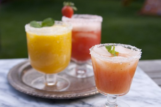 Build Tropical Margarita Bar Fresh Fruit Paletas Popsicles Recipe