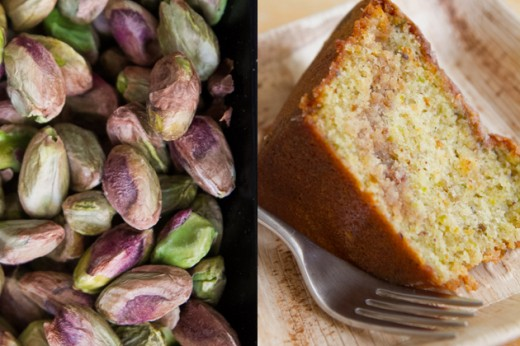 Pistachio Sour Cream Coffee Cake Recipe
