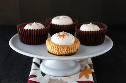Pumpkin Cheesecake Cupcakes and Spiced Apple Sangria Recipes