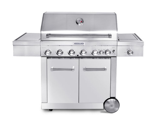 KitchenAid® Stainless Steel 8 Burner Gas Grill | The ...